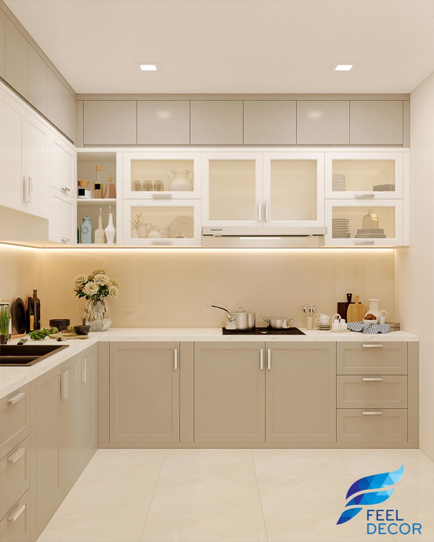 Thiết kế thi công nội thất căn hộ 106m2 chung cư Hoàng Anh Thanh Bình – FD5018