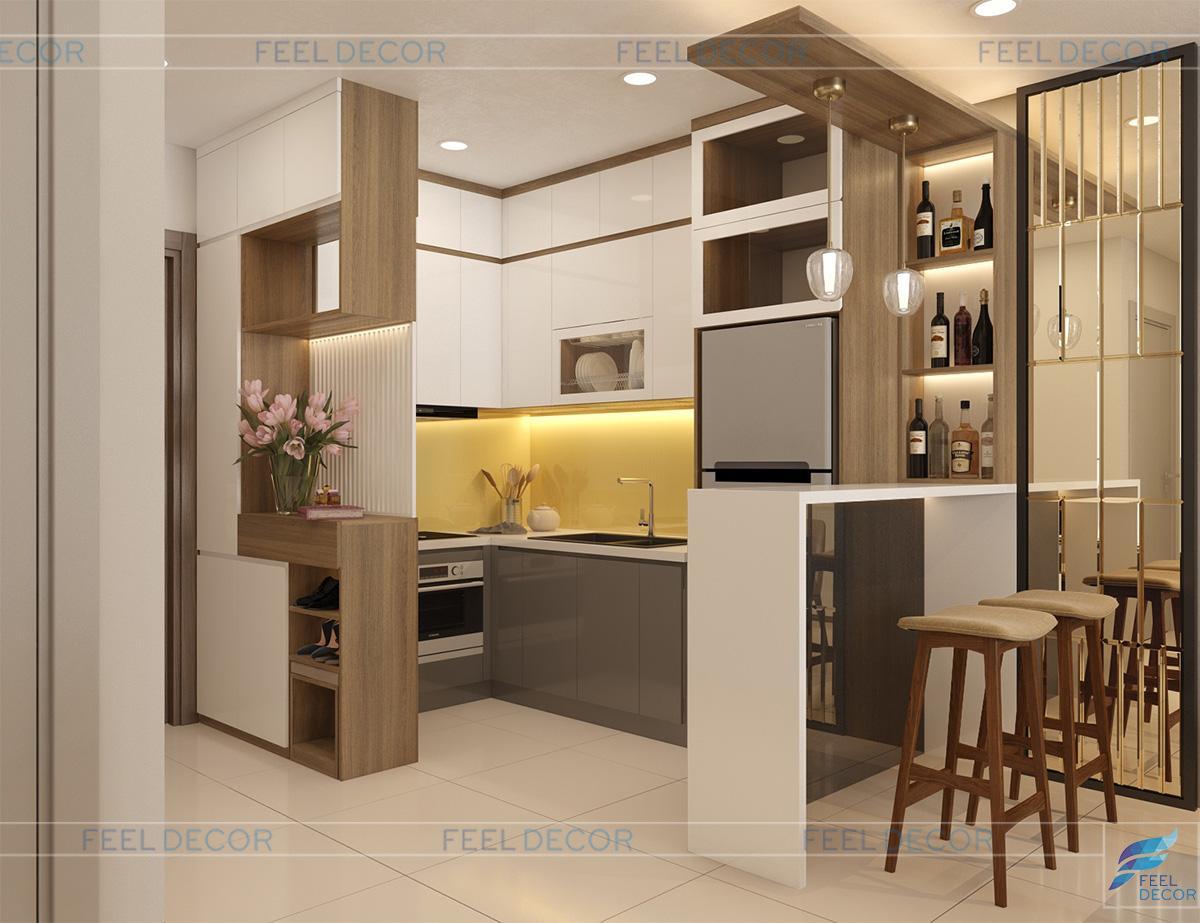 nội thất bếp nhỏ xinh