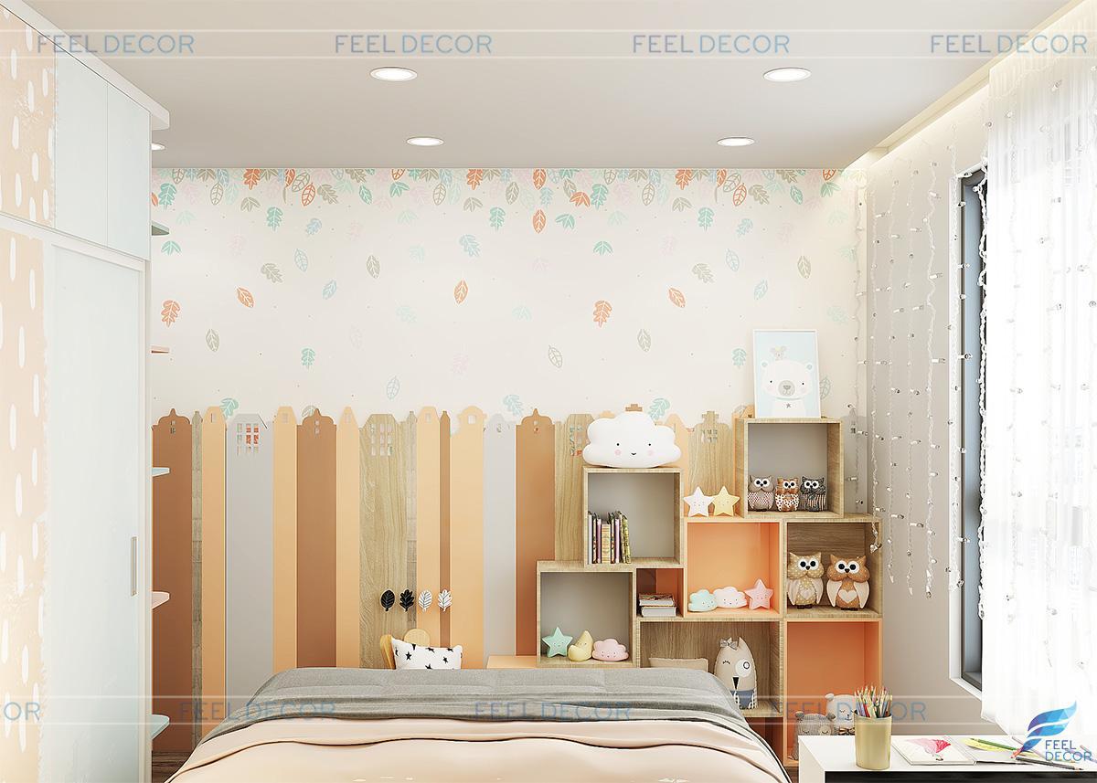 Thiết kế thi công nội thất căn hộ 78m2 chung cư Vista Verde