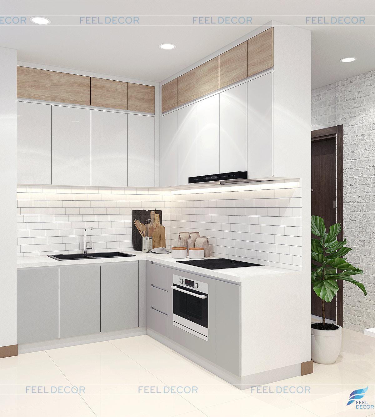 thiết kế thi công nội thất căn hộ Dragon Hill