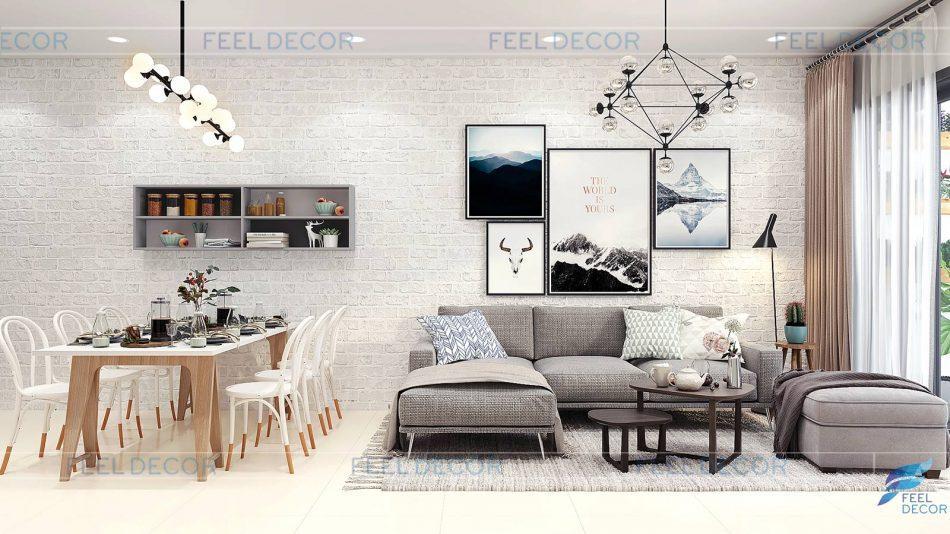 thiết kế thi công nội thất Dragon Hill