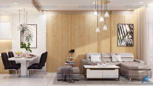 Thiết kế thi công nội thất căn hộ 81m2 chung cư Wilton Tower của NovaLand &124; FD6718