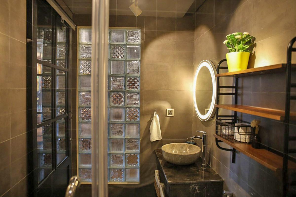 thiết kế nội thất phòng tắm 1 phòng ngủ