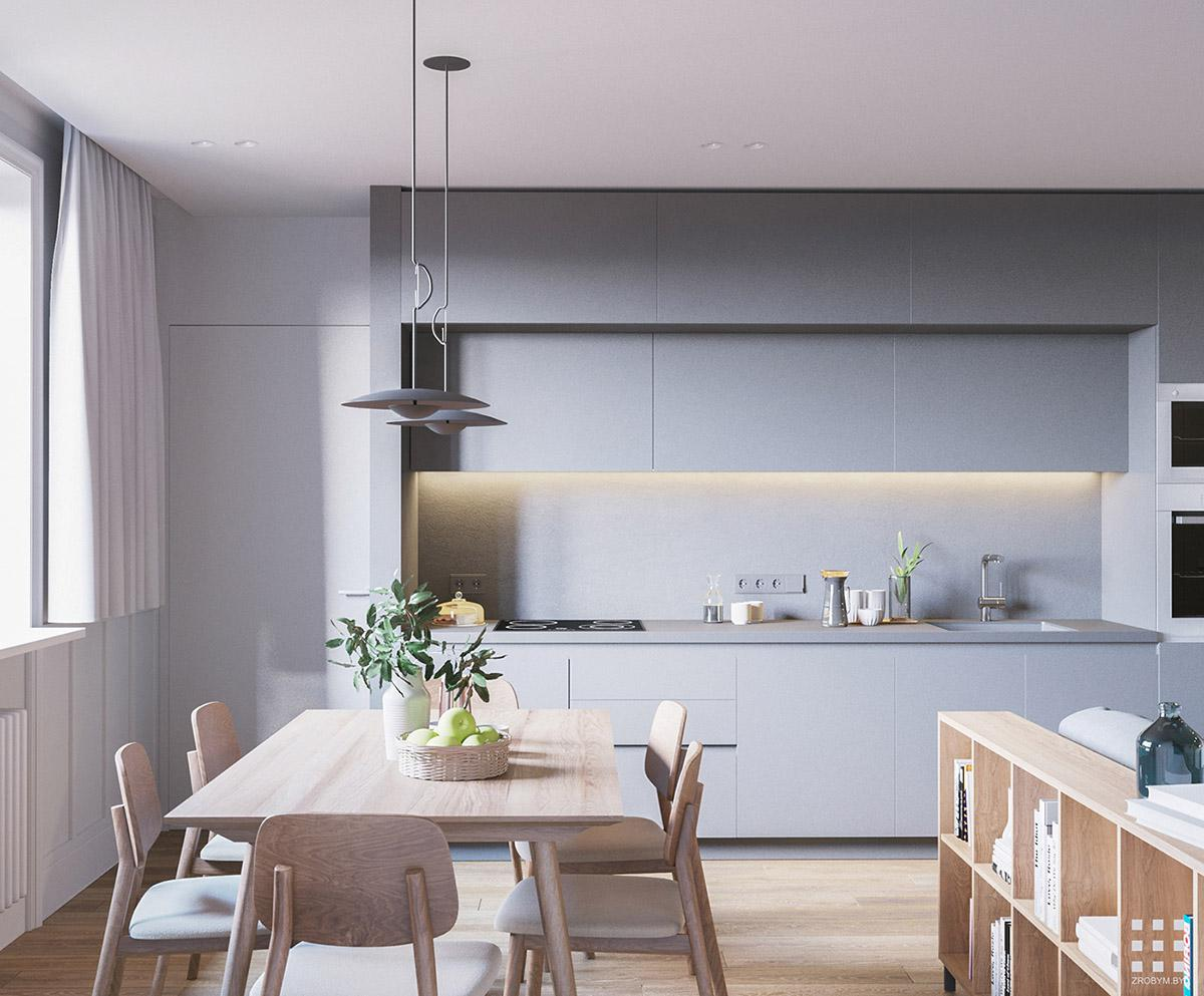 thiết kế nội thất căn hộ 92m2