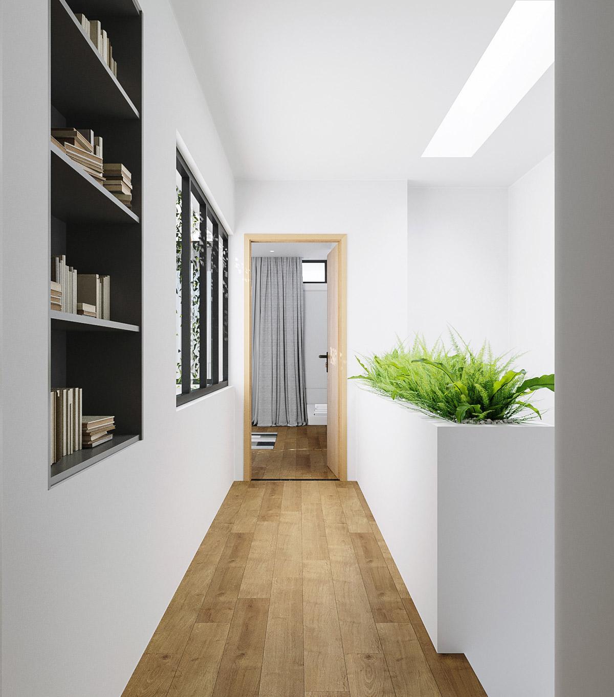 thiết kế nội thất nhà 1 tầng 30m2