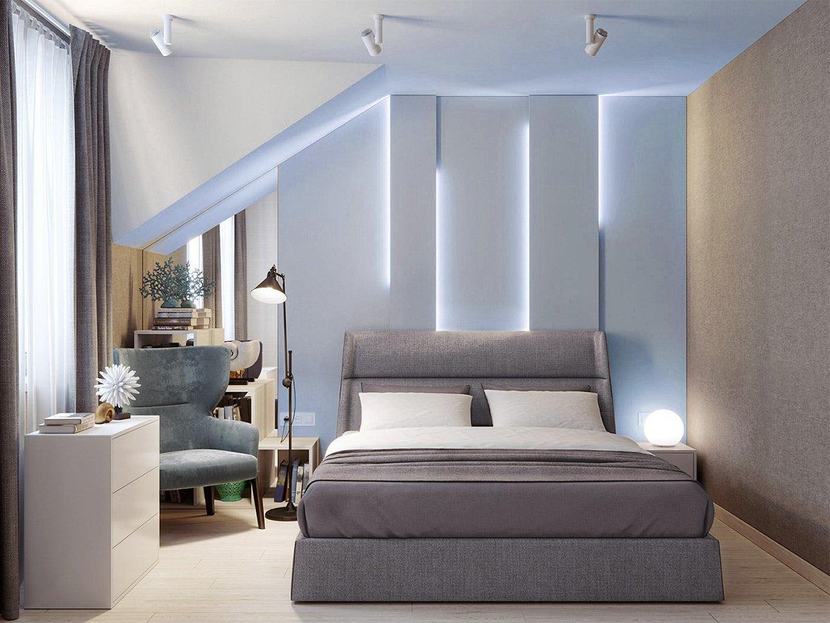 Thiết kế nội thất phòng ngủ căn hộ 66m2