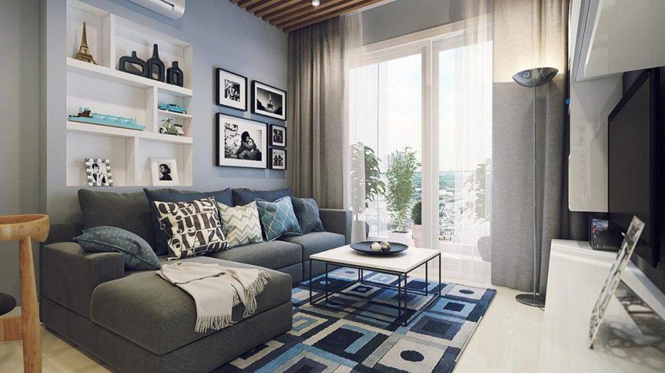 thiết kế nội thất căn hộ 66m2