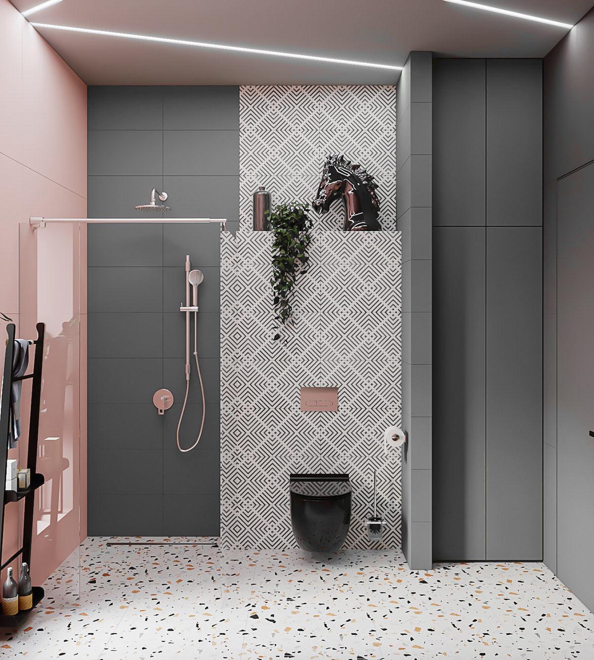 nội thất phòng vệ sinh căn hộ