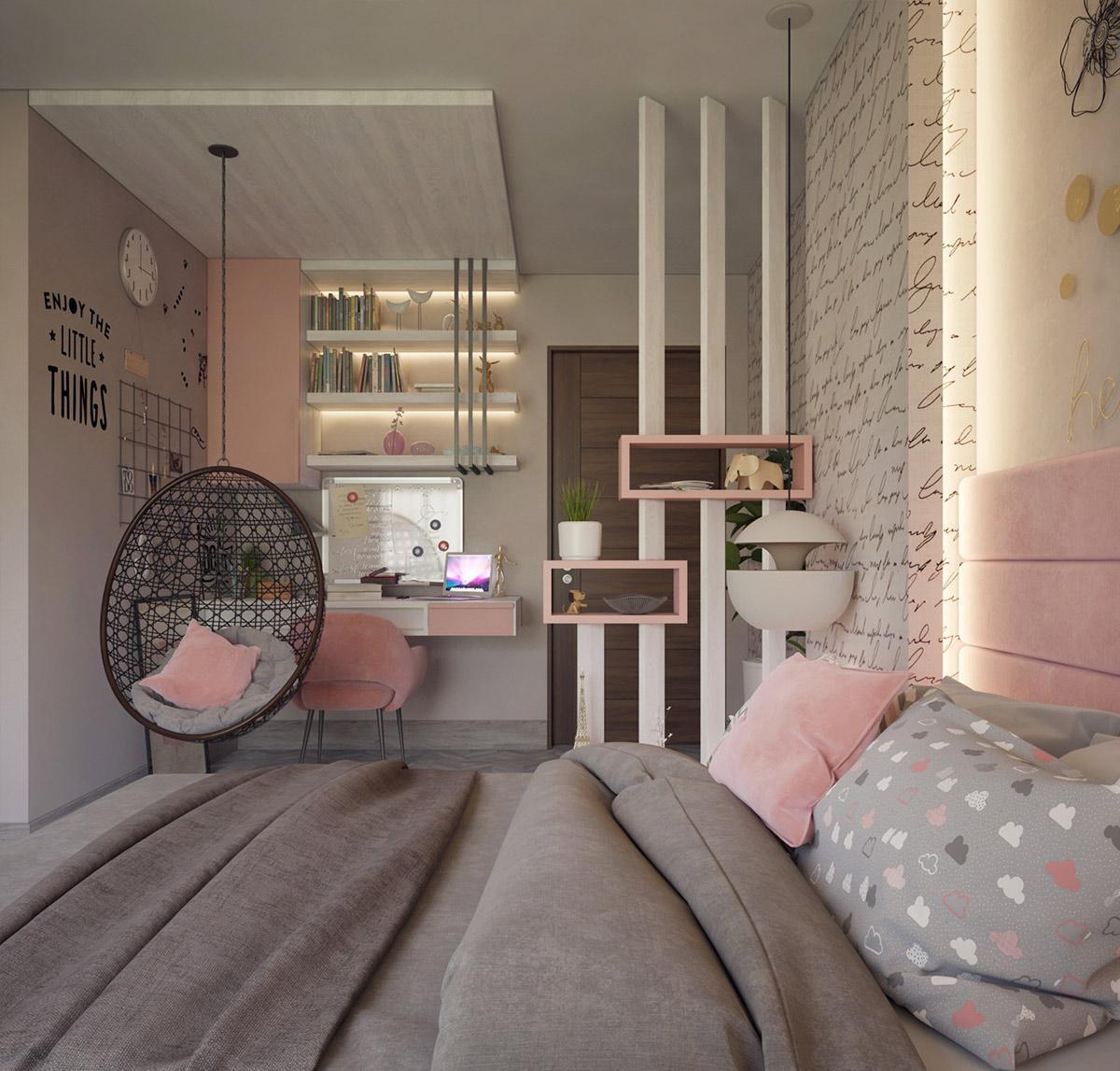 phòng ngủ xinh