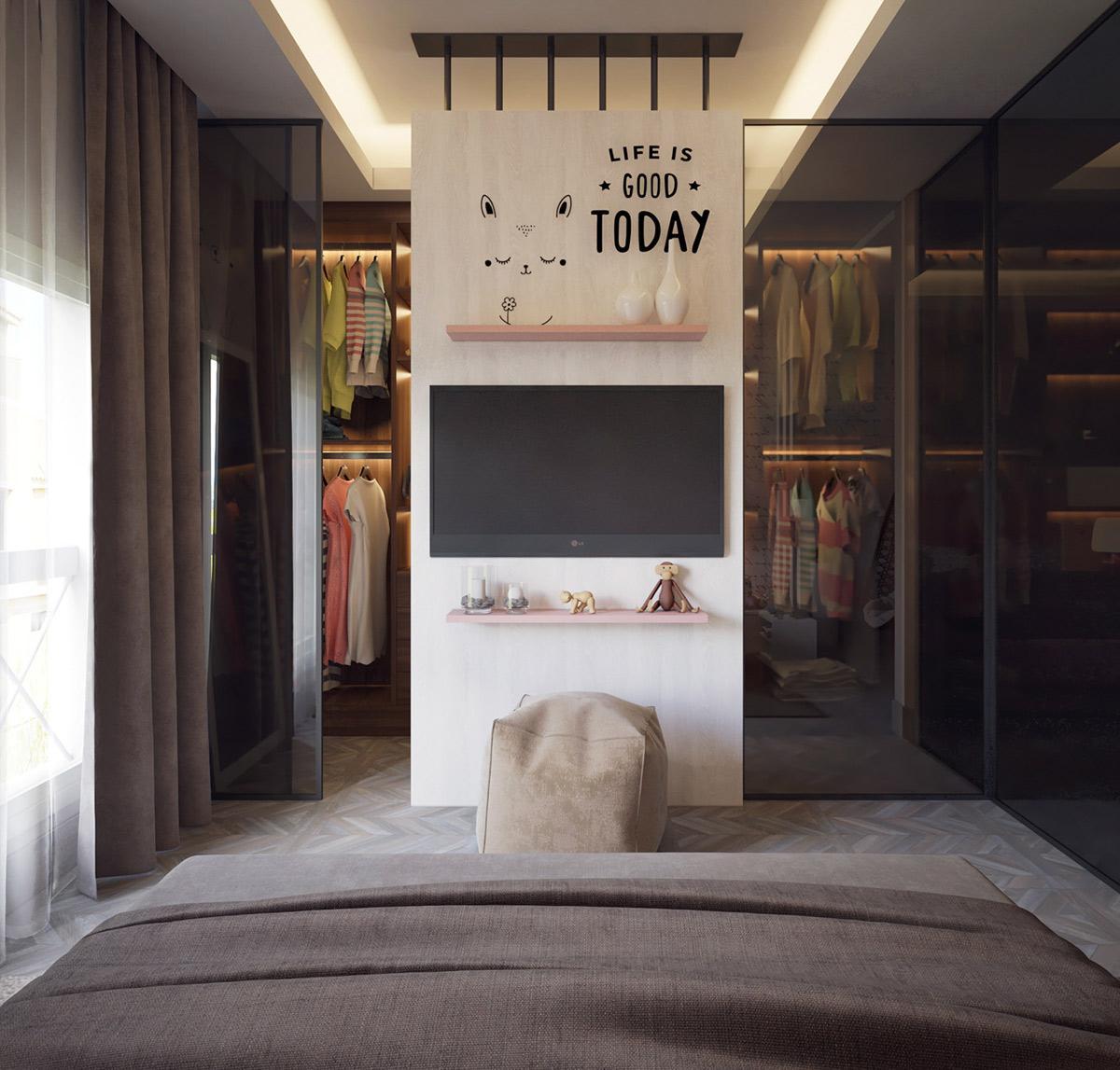 Không gian phòng ngủ xinh