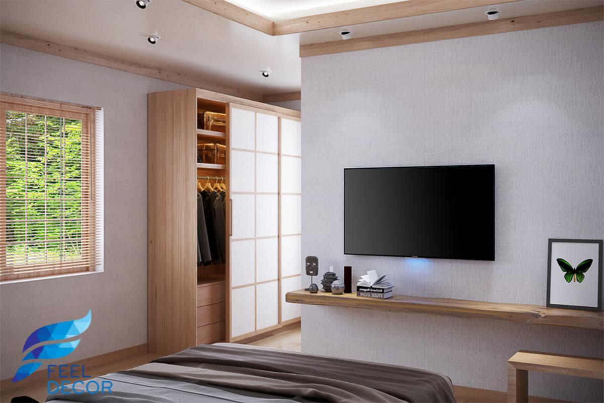 thiết kế nội thất phòng ngủ biệt thự vũng tàu