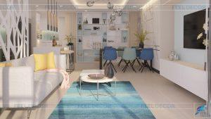 may17\anh 2018\Thiết kế thi công nội thất căn hộ 110m2 (3PN) chung cư The Gold View FD7818