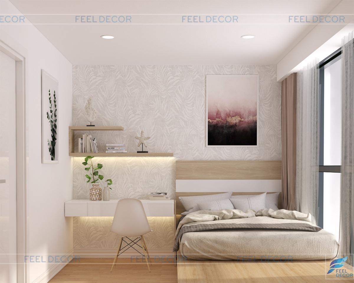 Phòng ngủ phụ thoáng đãng