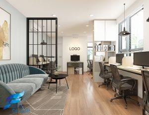 Thiết kế thi công nội thất căn hộ Officetel 38m2