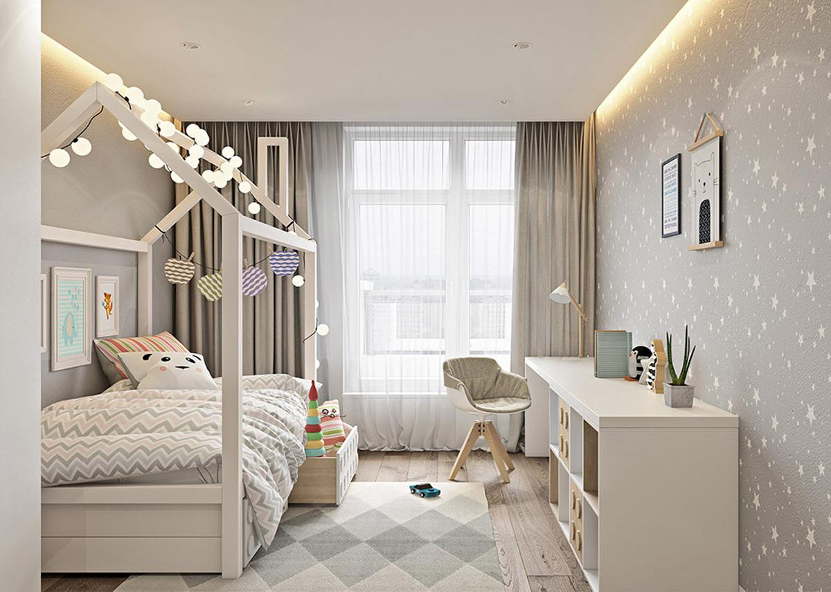 Thiết kế căn hộ 3 pn Hiện đại thanh lịch