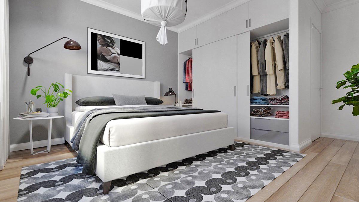 Trang trí phòng ngủ mang hơi thở nhiệt đới