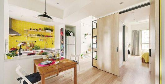 thiết kế nội thất căn hộ 63m2