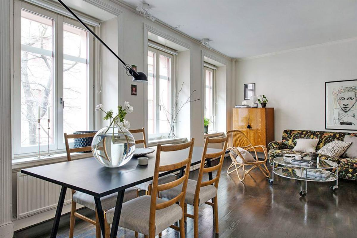 Scandinavian phòng khách đẹp