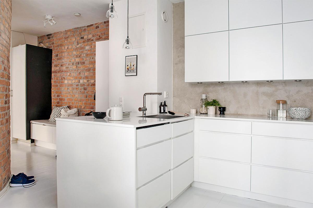 Scandinavian phòng bếp