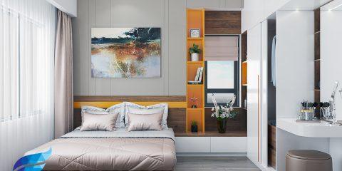 thiết kế thi công nội thất căn hộ 79m2 (3PN)