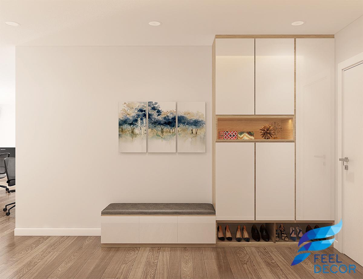 Thiết kế thi công nội thất căn hộ Officetel 40m2 Millennium Masteri Quận 4