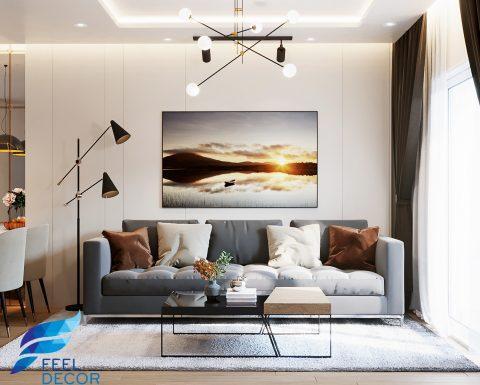 Thiết kế thi công nội thất căn hộ 103m2 (3PN)