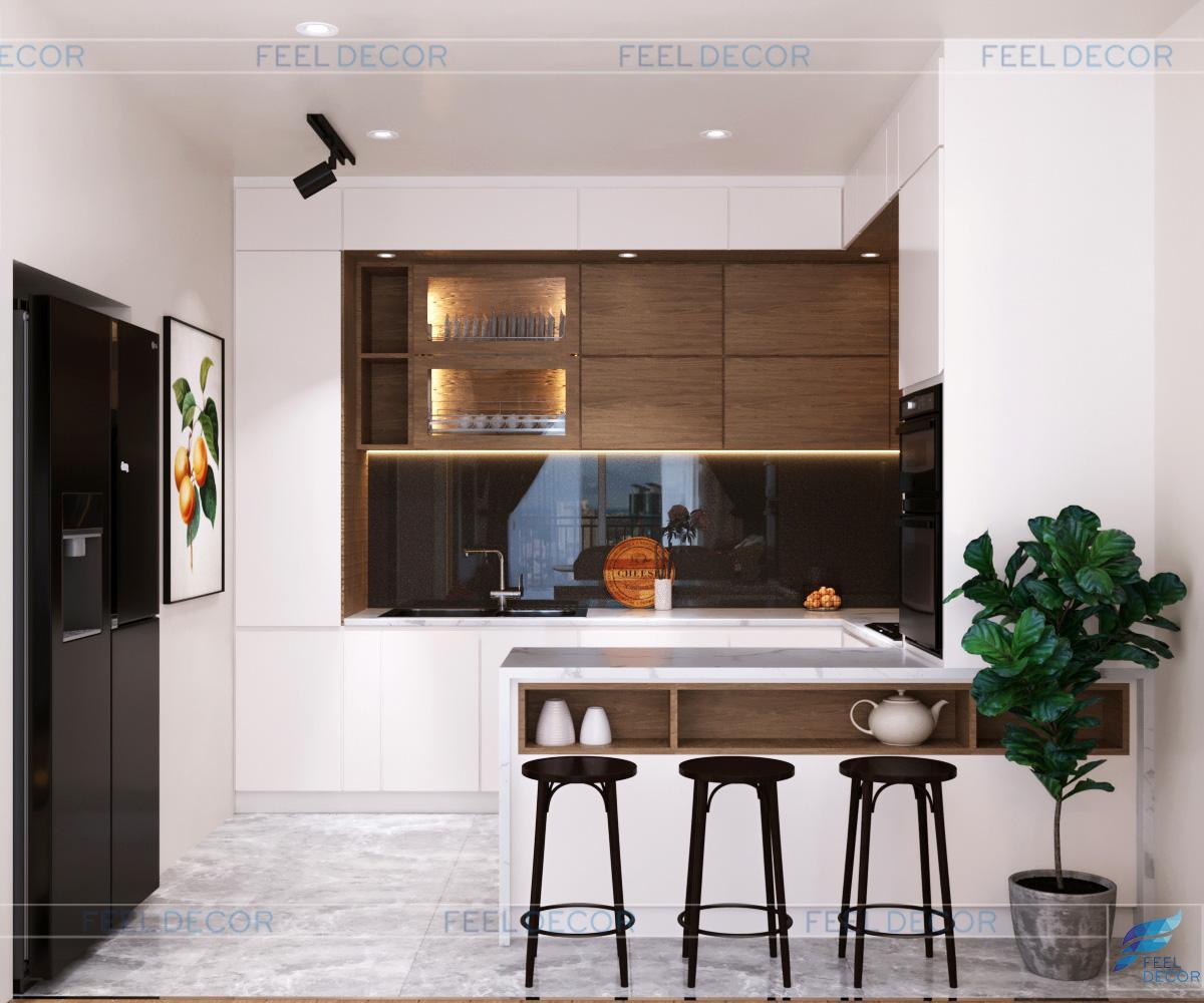 FD 12118 khu vực bếp