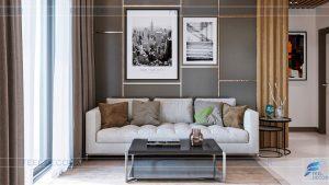 Thiết kế nội thất căn hộ 74m2