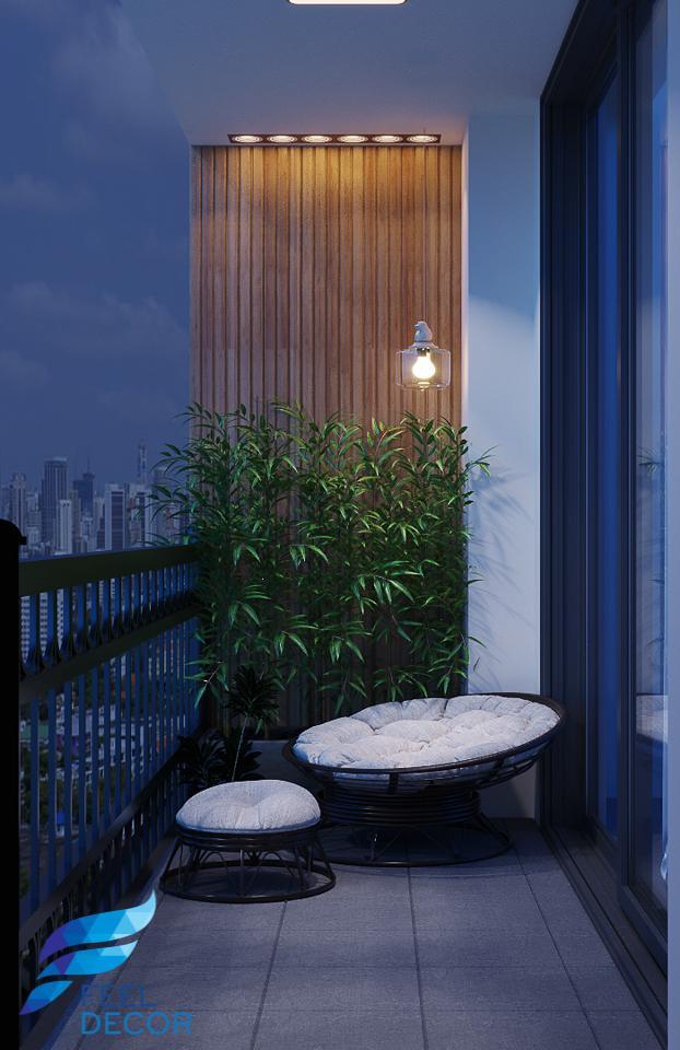 Thiết kế thi công nội thất căn hộ 77m2