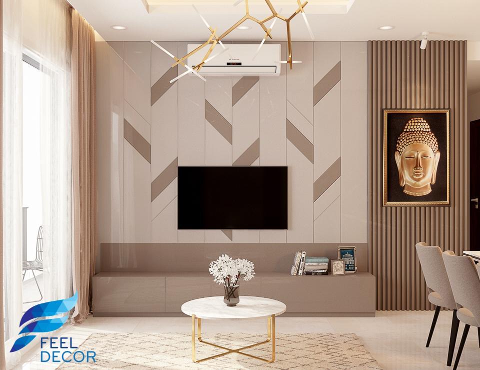 Thiết kế thi công nội thất căn hộ 89m2Thiết kế thi công nội thất căn hộ 89m2