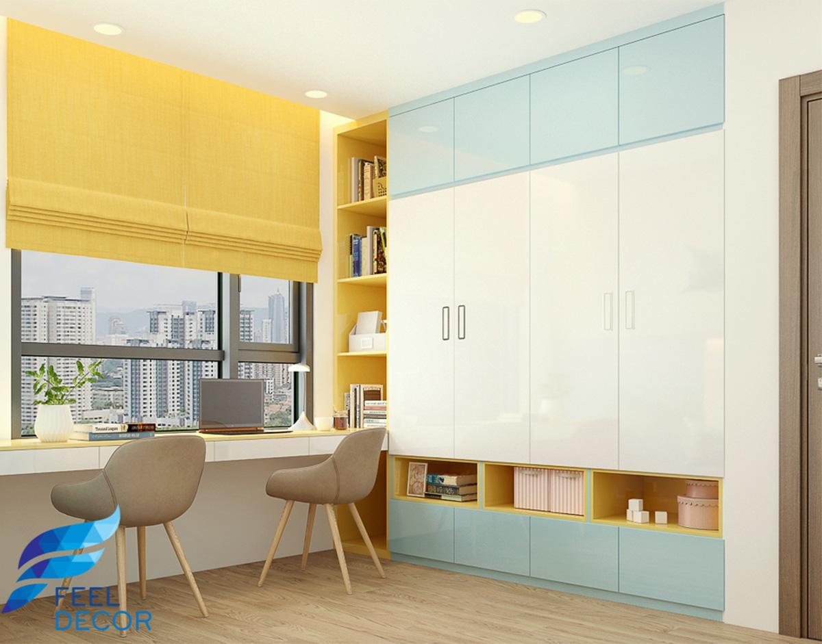 Thiết kế thi công nội thất căn hộ 3 phòng ngủ – 98m2 chung cư Sunrise Riverside &124; FD10718