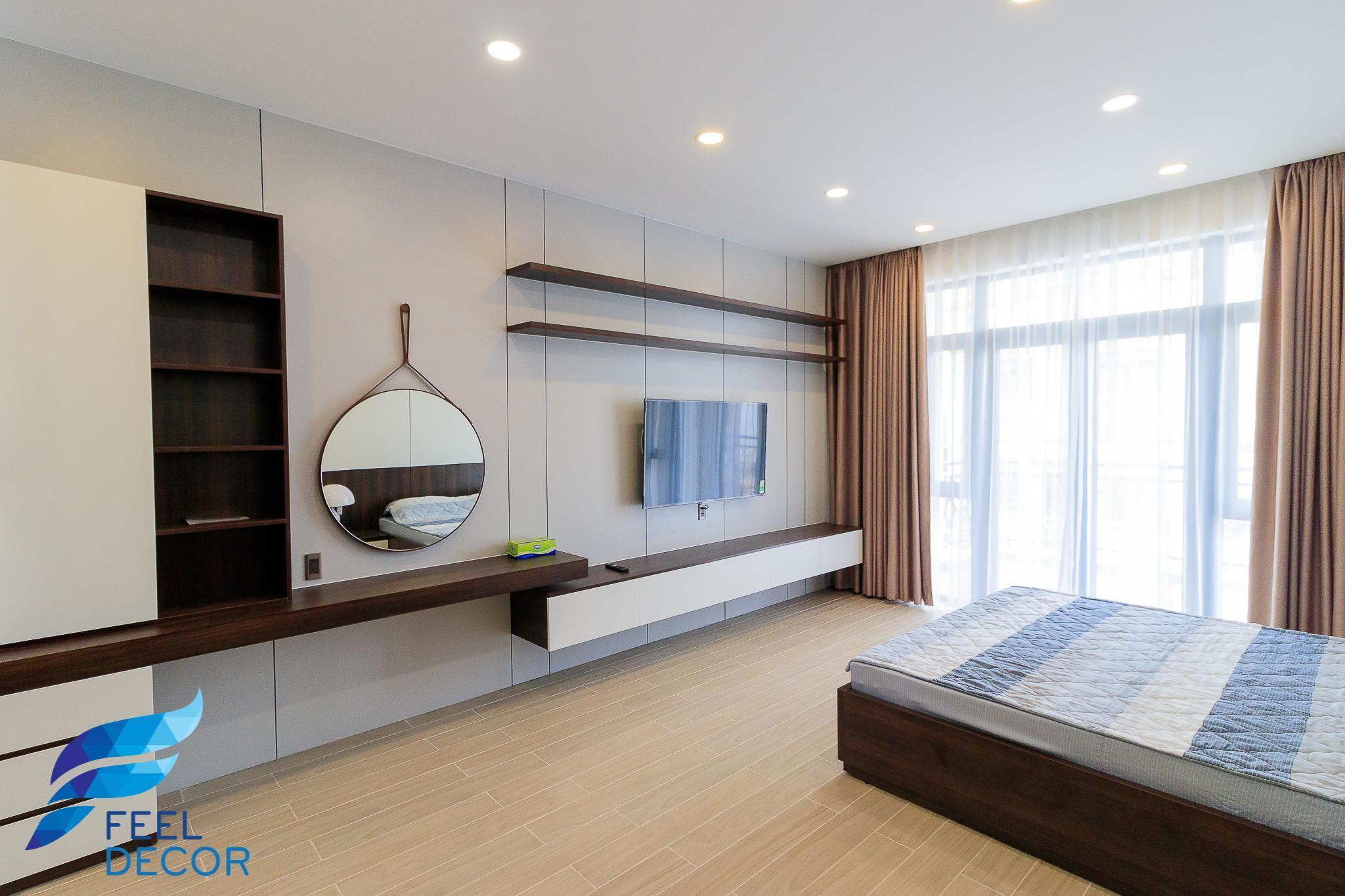 không gian nội thất nhà phố 375m2