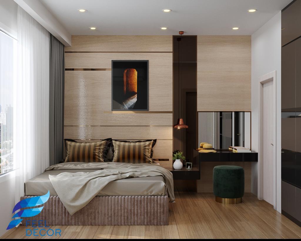 Thiết kế thi công nội thất căn hộ 81m2