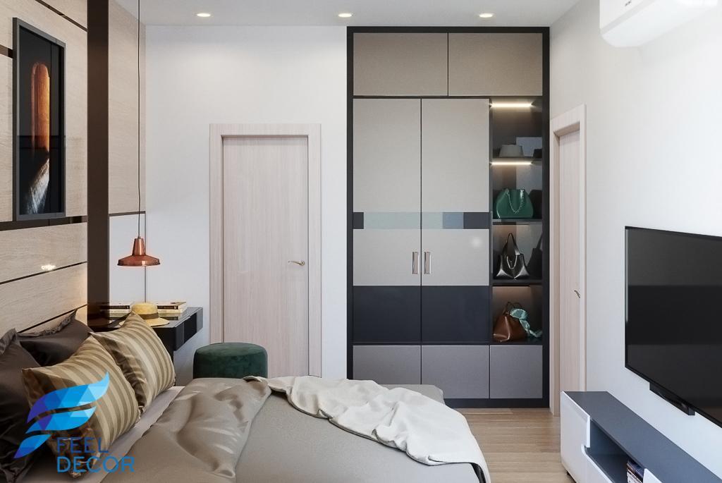 Thiết kế thi công nội thất căn hộ 81m2 (3PN) chung cư Hà Đô Centrosa Garden