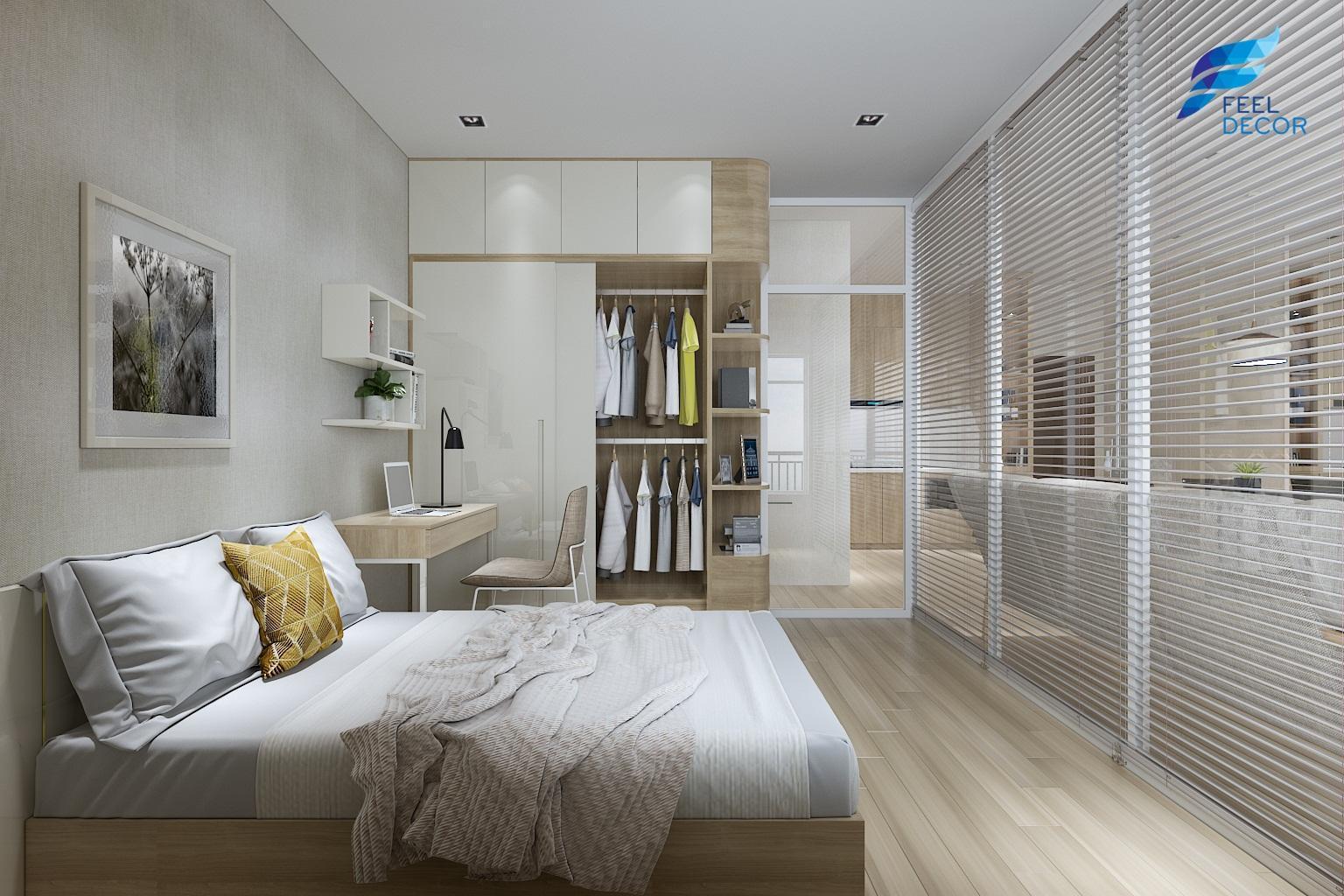 Thiết kế thi công nội thất căn hộ 89m2