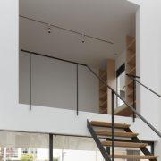 giếng trời trong thiết kế nhà phố hiện đại