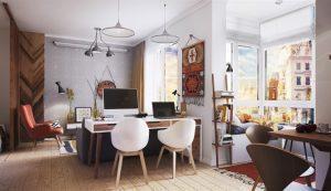thiết kế trang trí nội thất căn hộ