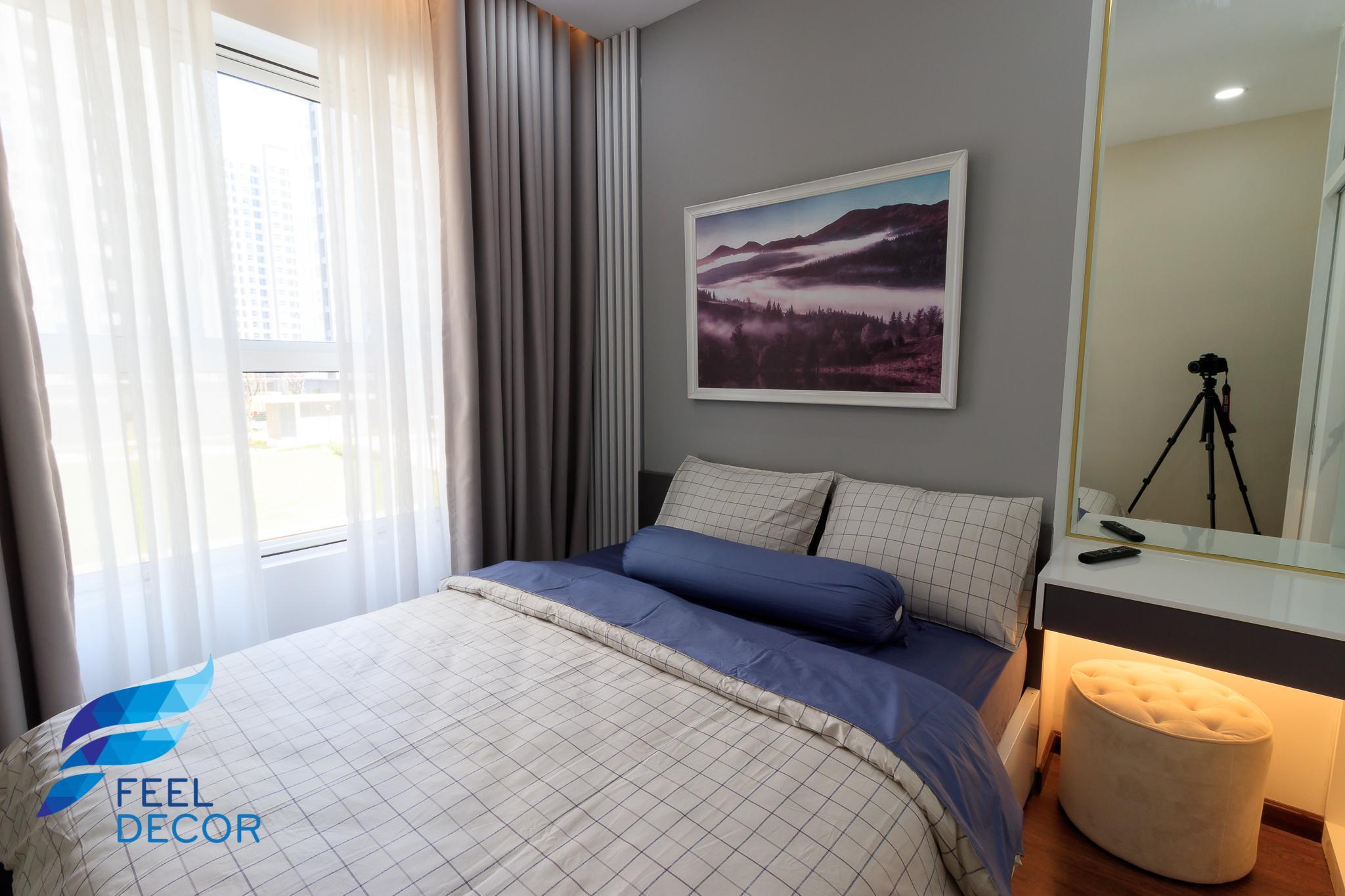 ảnh chụp thực tế căn hộ 66m2 chung cư Sunrise Riverside