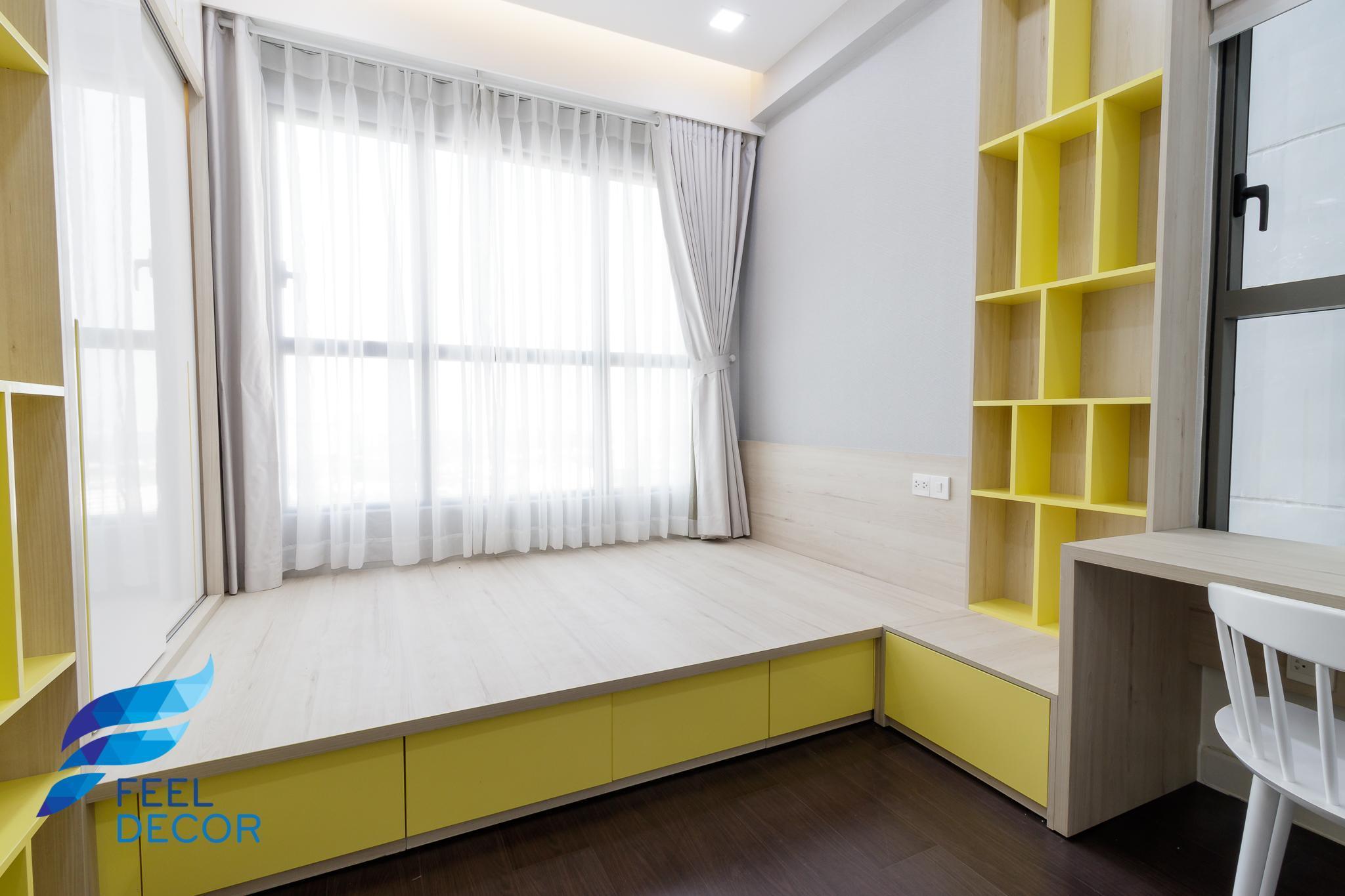 hình ảnh thực tế thiết kế nội thất căn hộ 3 phòng ngủ