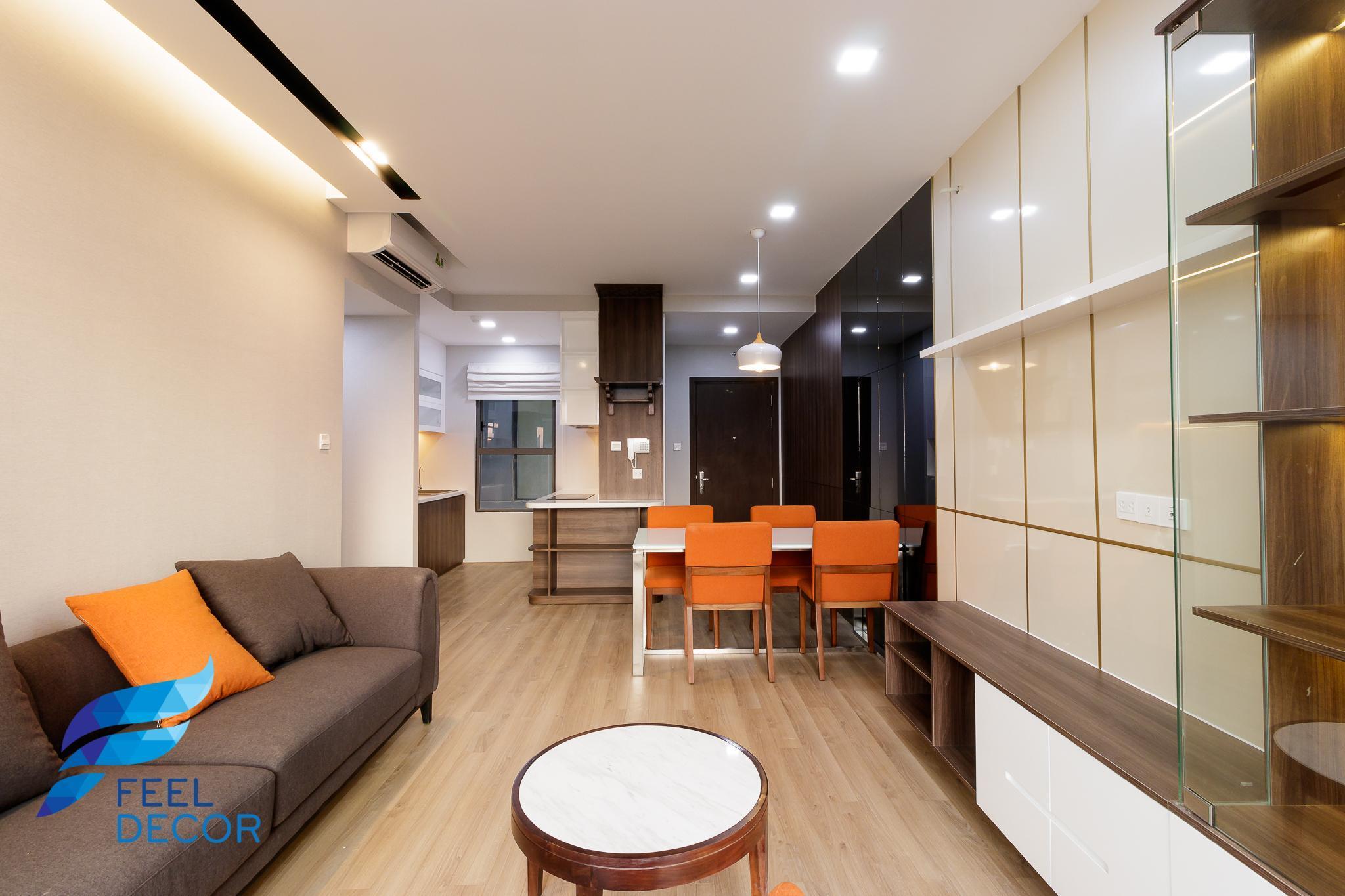 View khác phòng khách căn hộ 3 phòng ngủ (79m2) CC The Sun Avenue Quận 2