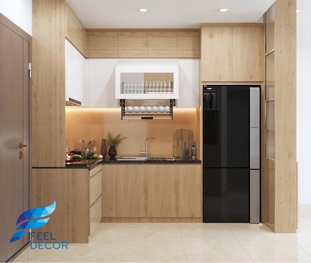 thiết kế hiện đại nội thất căn hộ 2 phòng ngủ (69m2)
