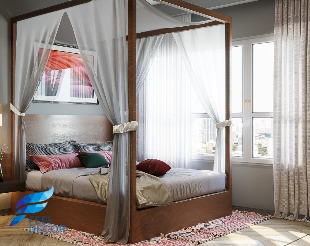 thiết kế thi công nội thất căn hộ 3 phòng ngủ - 106m2