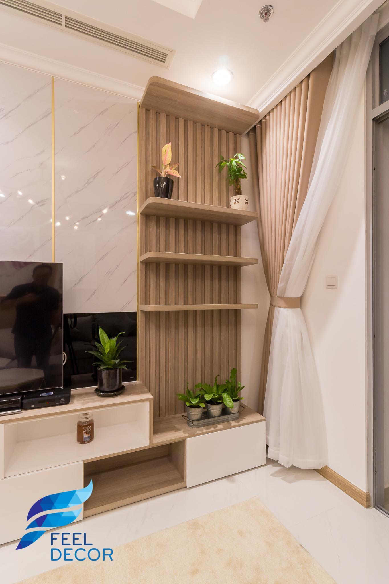 nội thất căn hộ 3 phòng ngủ hiện đại Vinhomes Central Park