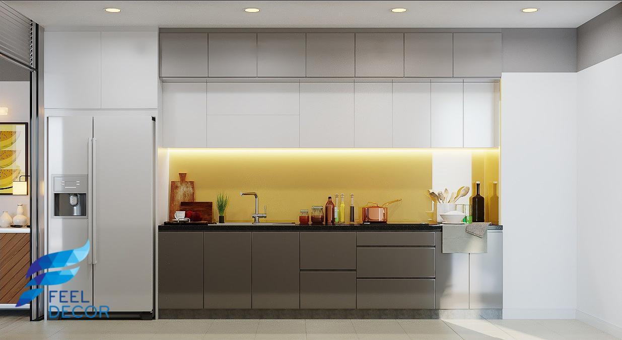 Khu nội thất bếp căn hộ Hà Đô Centrosa Garden 110 m2