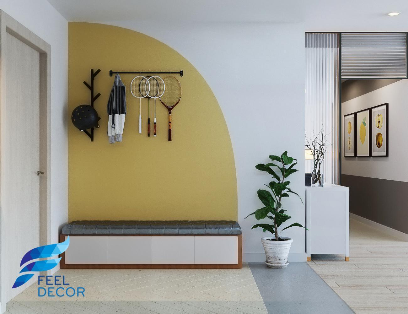 thiết kế thi công nội thất căn hộ Hà Đô 110m2 - 3 phòng ngủ