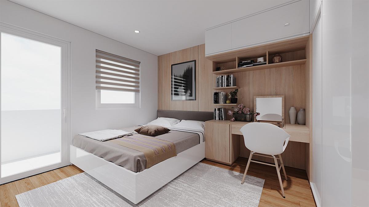Trang trí nội thất căn hộ Scandinavian hiện đại, tối giản với điểm nhấn tinh tế