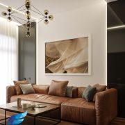 Hình ảnh: Thiết kế thi công nội thất căn hộ 3 phòng ngủ 103m2 chung cư Saigon Royal