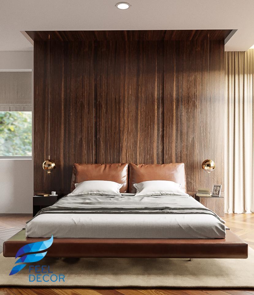 Thiết kế thi công nội thất căn hộ 75m2 (2 phòng ngủ) chung cư Masteri An Phú
