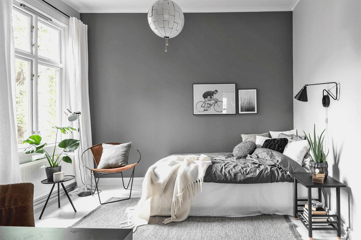 Trang trí cây xanh cho phòng ngủ