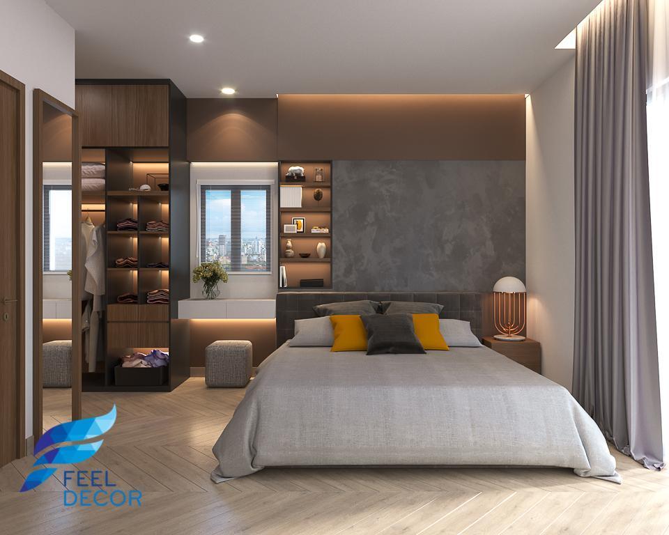 Hình ảnh: Thiết kế thi công nội thất căn hộ 2 phòng ngủ 109m2 chung cư Hà Đô Centrosa